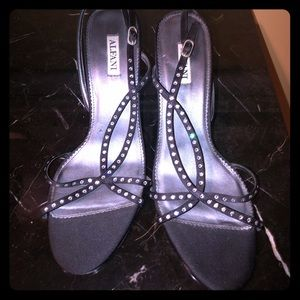 Alfani black heels sz 8.5